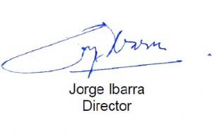 Firma Jorge Ibarra